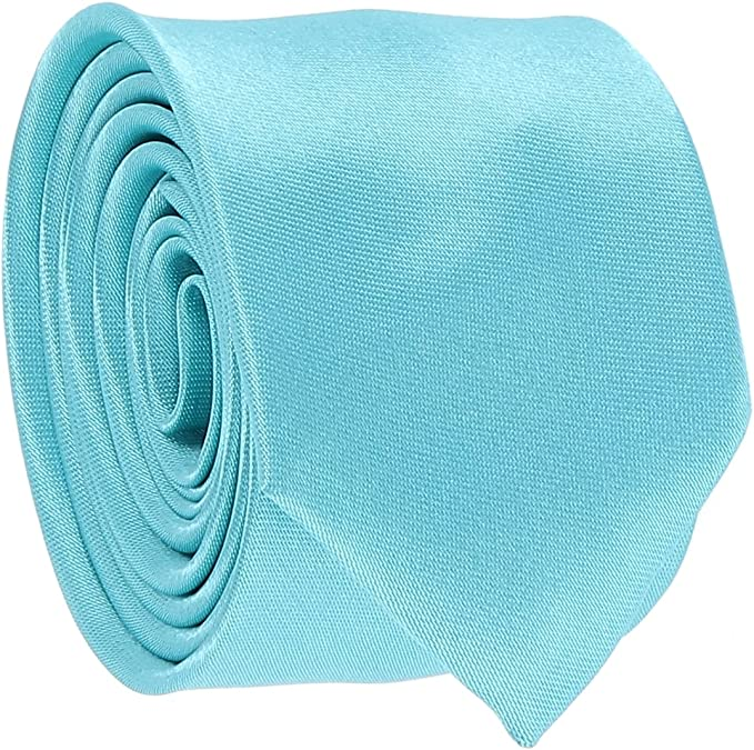 cravateSlim Corbata Estrecha Azul Turquesa: Amazon.es: Ropa y ...