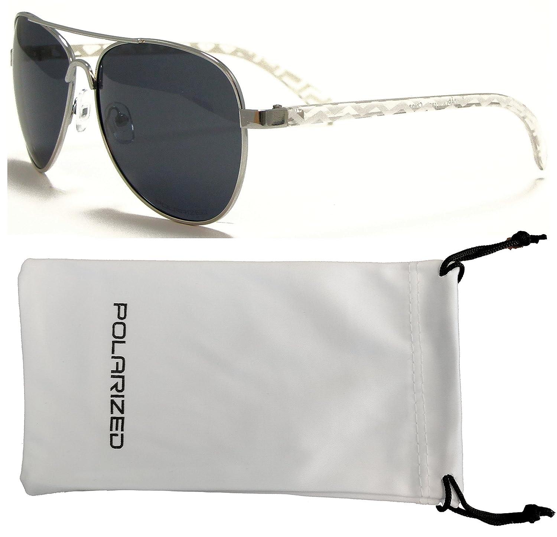 Vox mujeres polarizados Aviator gafas de sol Azteca Navajo Tribal moda gafas gratis bolsa del Microfiber