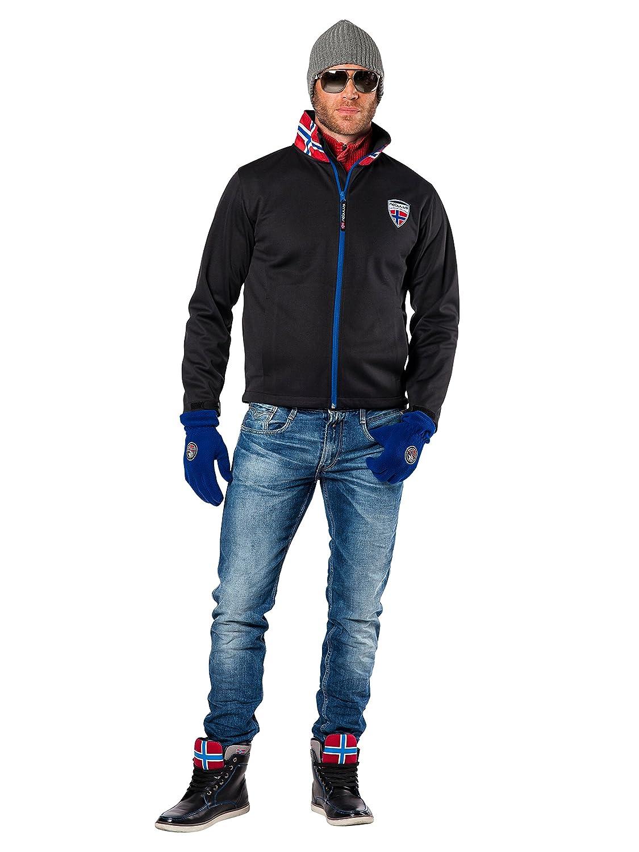Nebulus Softshelljacke Garda - Chaqueta técnica para hombre, color negro, talla S: Amazon.es: Deportes y aire libre