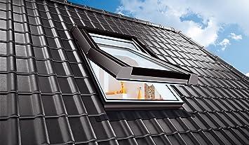 AFG 55x98 Dachausstieg PVC Skylight Warmdach Dachausstiegsfenster Ausstieg
