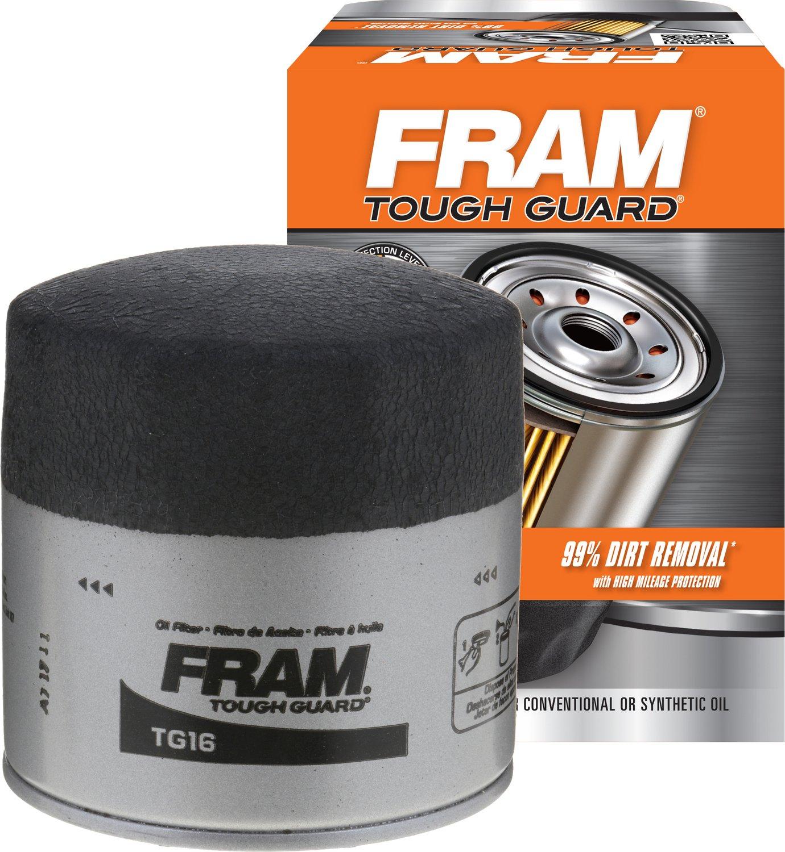 amazon com fram tg16 tough guard passenger car spin on oil filter