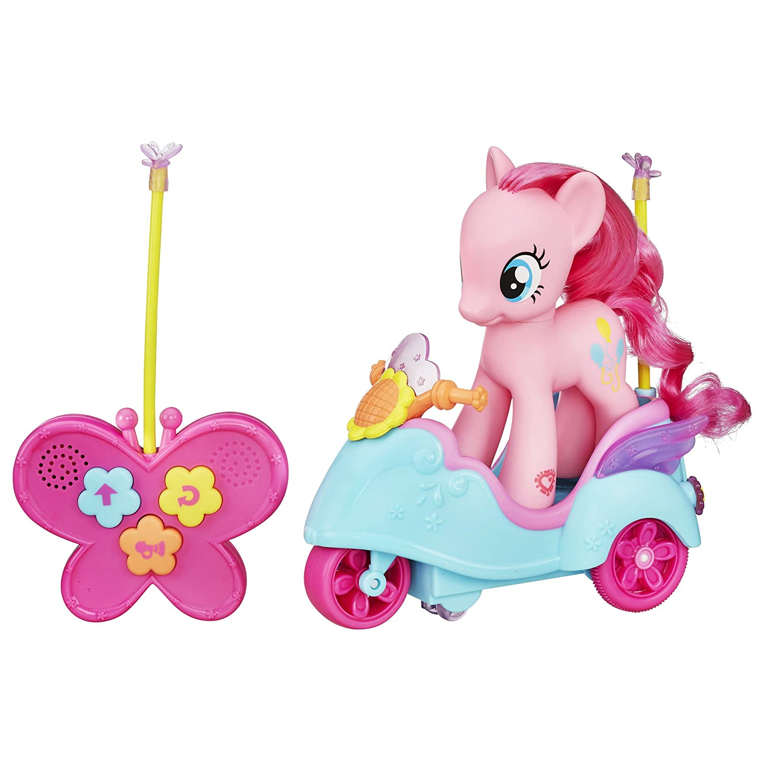 amazoncom my little pony pinkie pie rc scooter toys games