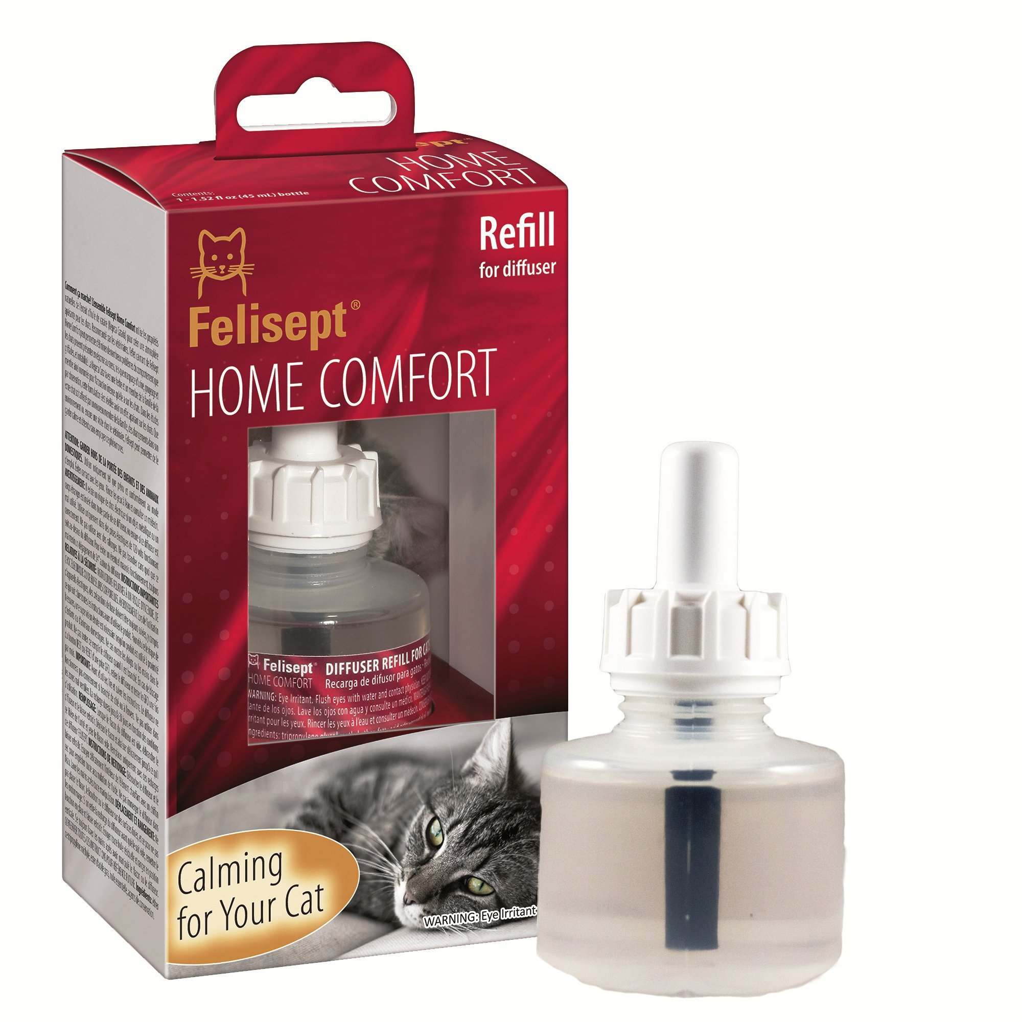 Felisept Home Comfort Plug-In Diffuser Refill - Calming and Tension Relief for Cats by Felisept