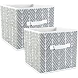 DII Fabric Storage Bins for Nursery Offices Home Organization Containers Are Made To Fit Standard Cube Organizers…