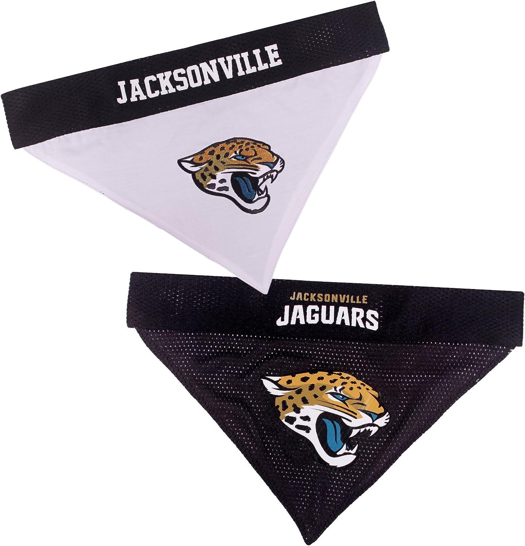 Pets First Jacksonville Jaguars Reversible Bandana for Dogs