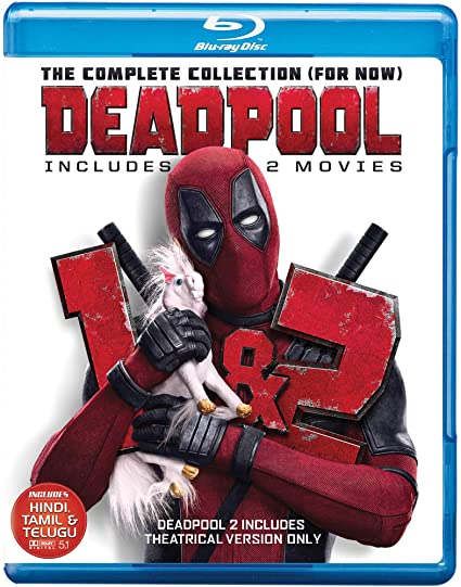 Amazon In Buy Deadpool 1 2 Theatrical Edition Dvd Blu