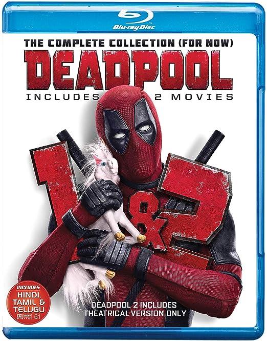 Amazon In Buy Deadpool 1 2 Theatrical Edition Dvd Blu Ray