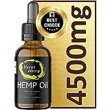 Pure Hemp Drops 4500mg 30ml | Natural Ingredients | Anti-inflammatory | suitable for Vegans & Vegetarians