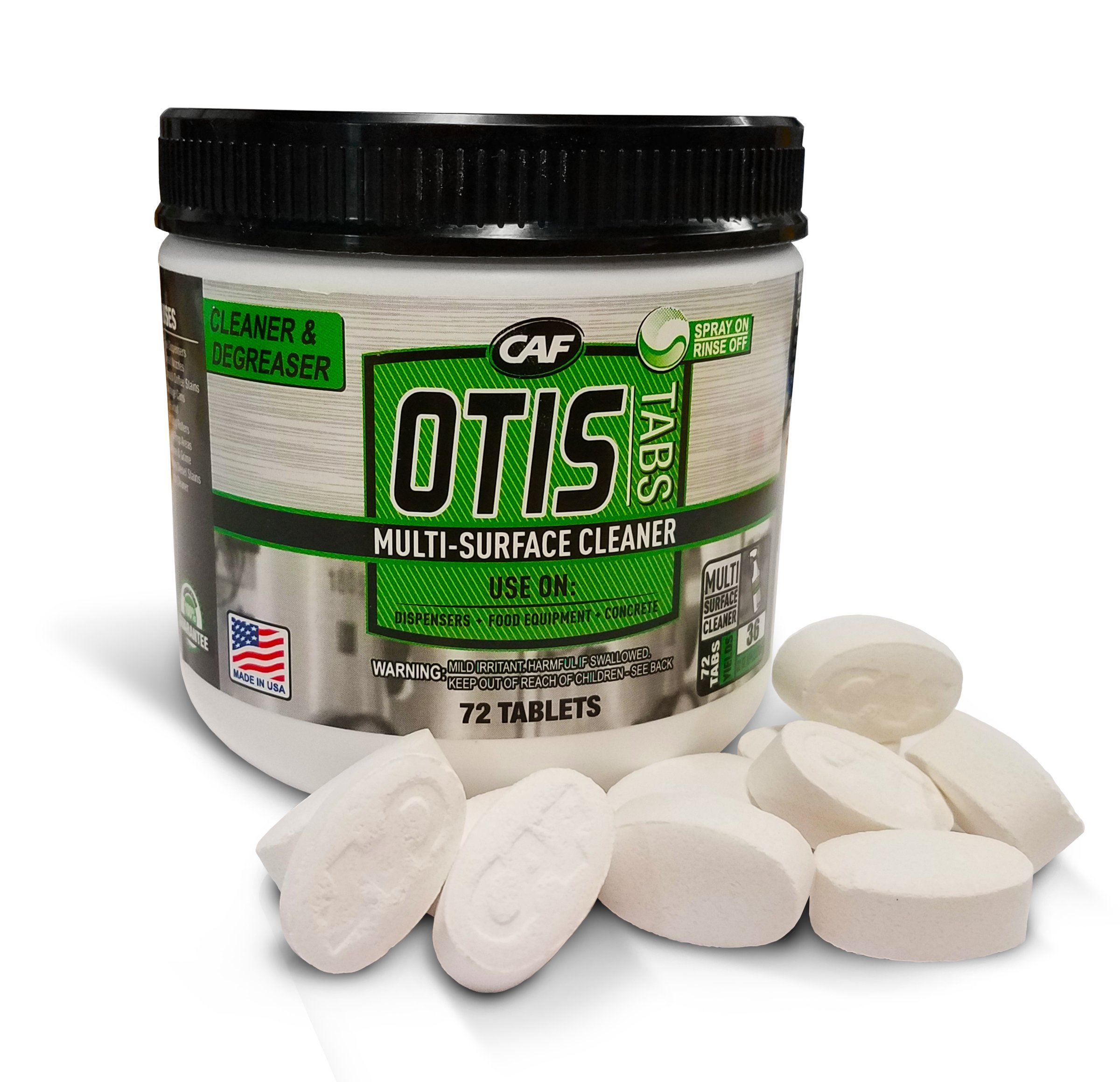 OTIS Tablet Multi-Surface Cleaner and Degreaser
