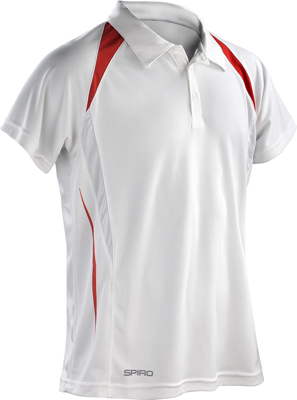 Spiro Polo T-Shirt pour Homme Team Spirit  Amazon.fr  Sports et Loisirs e6f1c6369f8f
