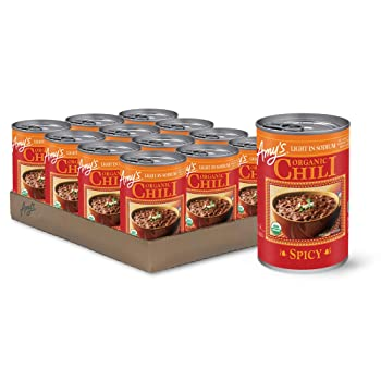 Amy's Organic Low Sodium 14.7-ounce Spicy Canned Chili