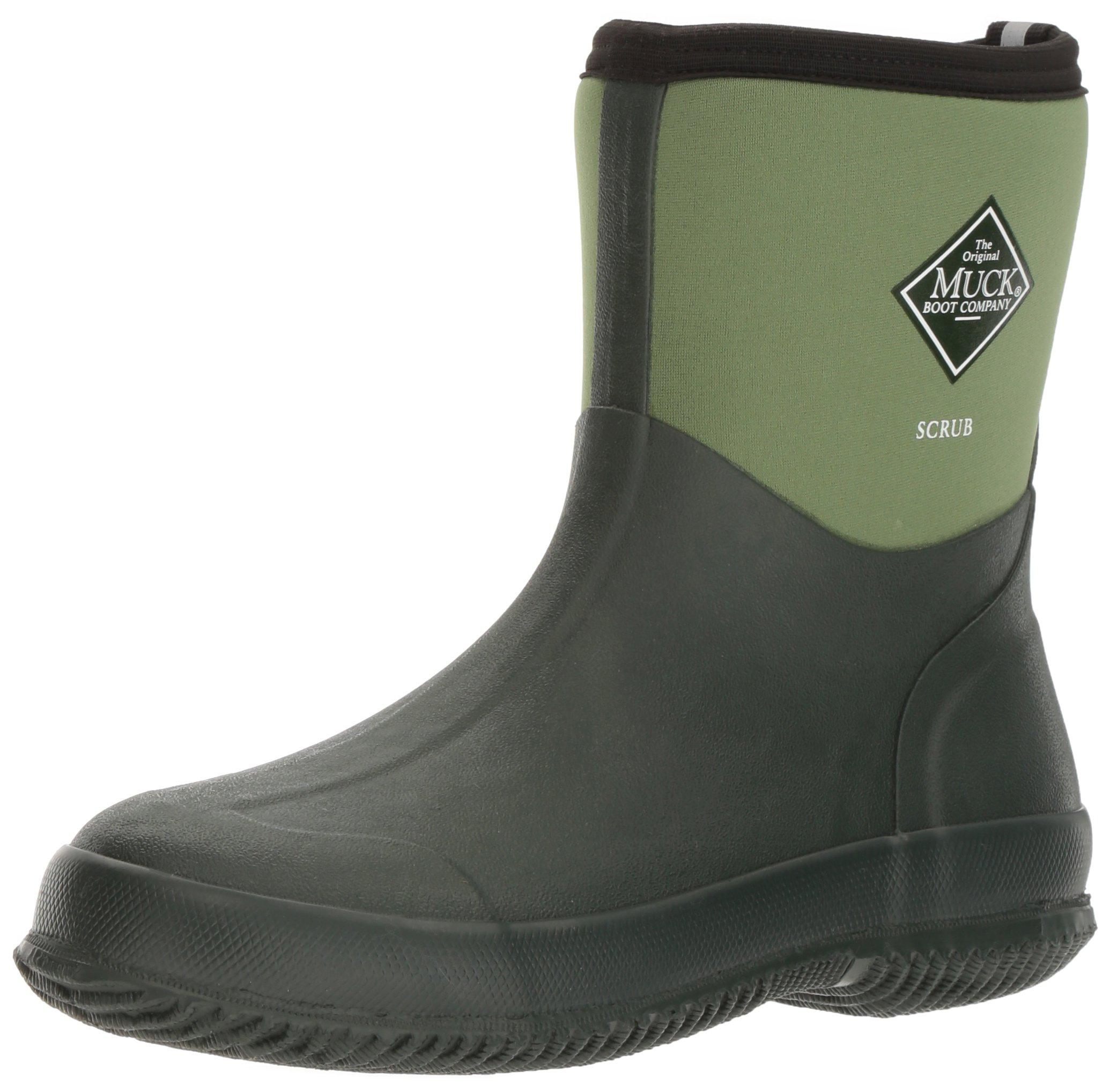 The Original MuckBoots Adult Scrub Boot,Garden Green,11 M US Mens/12 M US Womens by Muck Boot