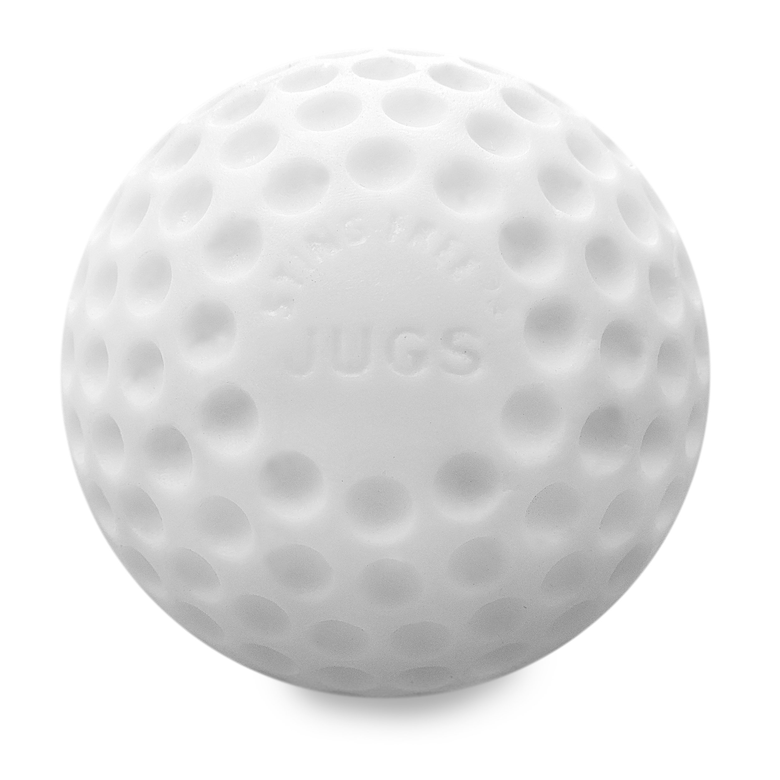 Jugs Sting-Free Dimpled White Baseballs - 1 Dozen by Jugs (Image #1)