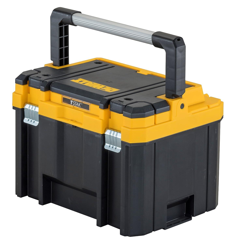 Jaune//noir DeWalt DWST1 75774/Coffre /à outils avec poign/ée en aluminium