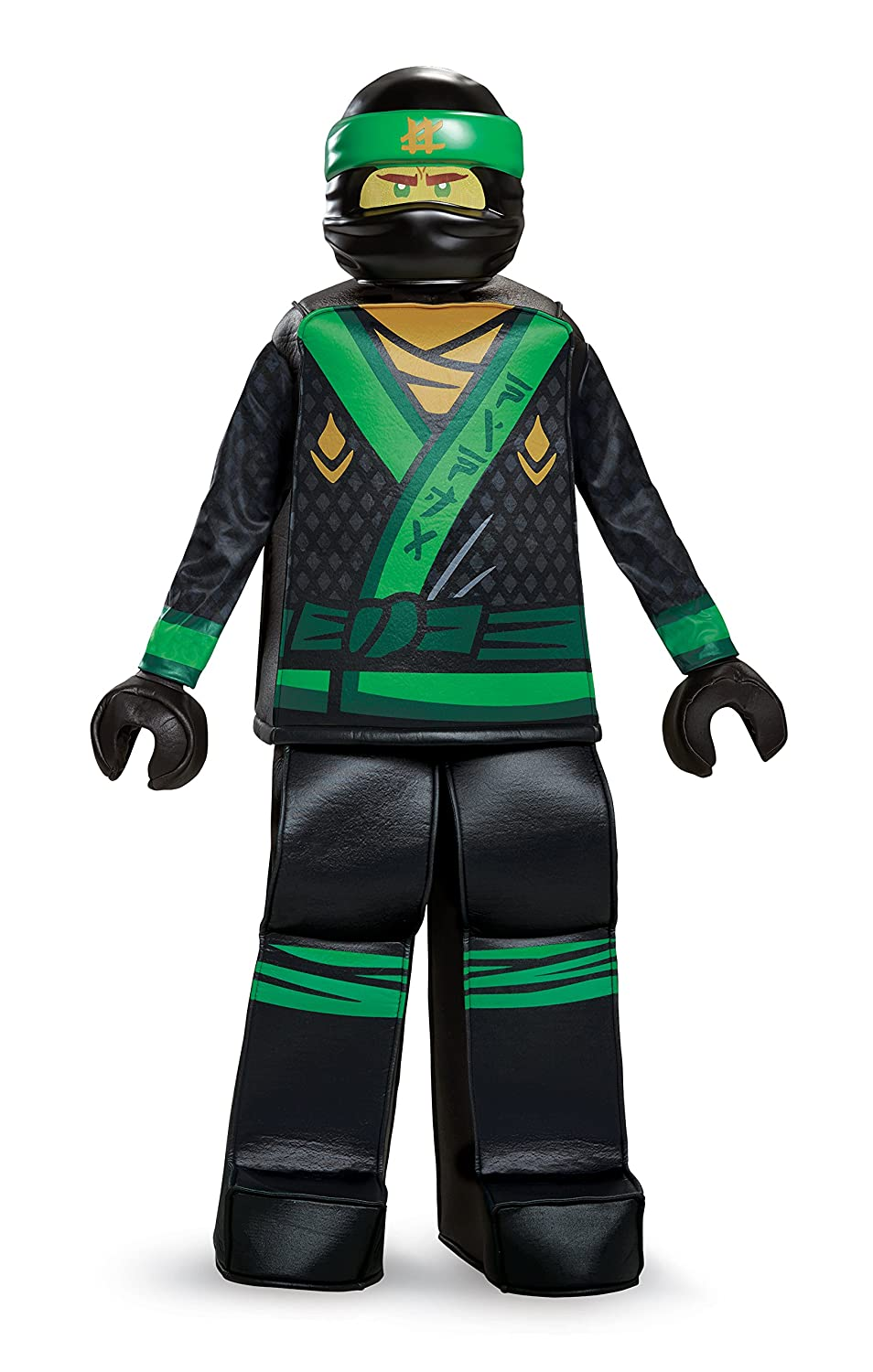 Lloyd LEGO Ninjago Movie Prestige Costume, Green, Medium (7-8)