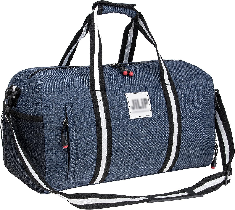 Gym Bag Sports Duffels Shoulder Bag Travel Bag with Shoulder Strap For Women and Men