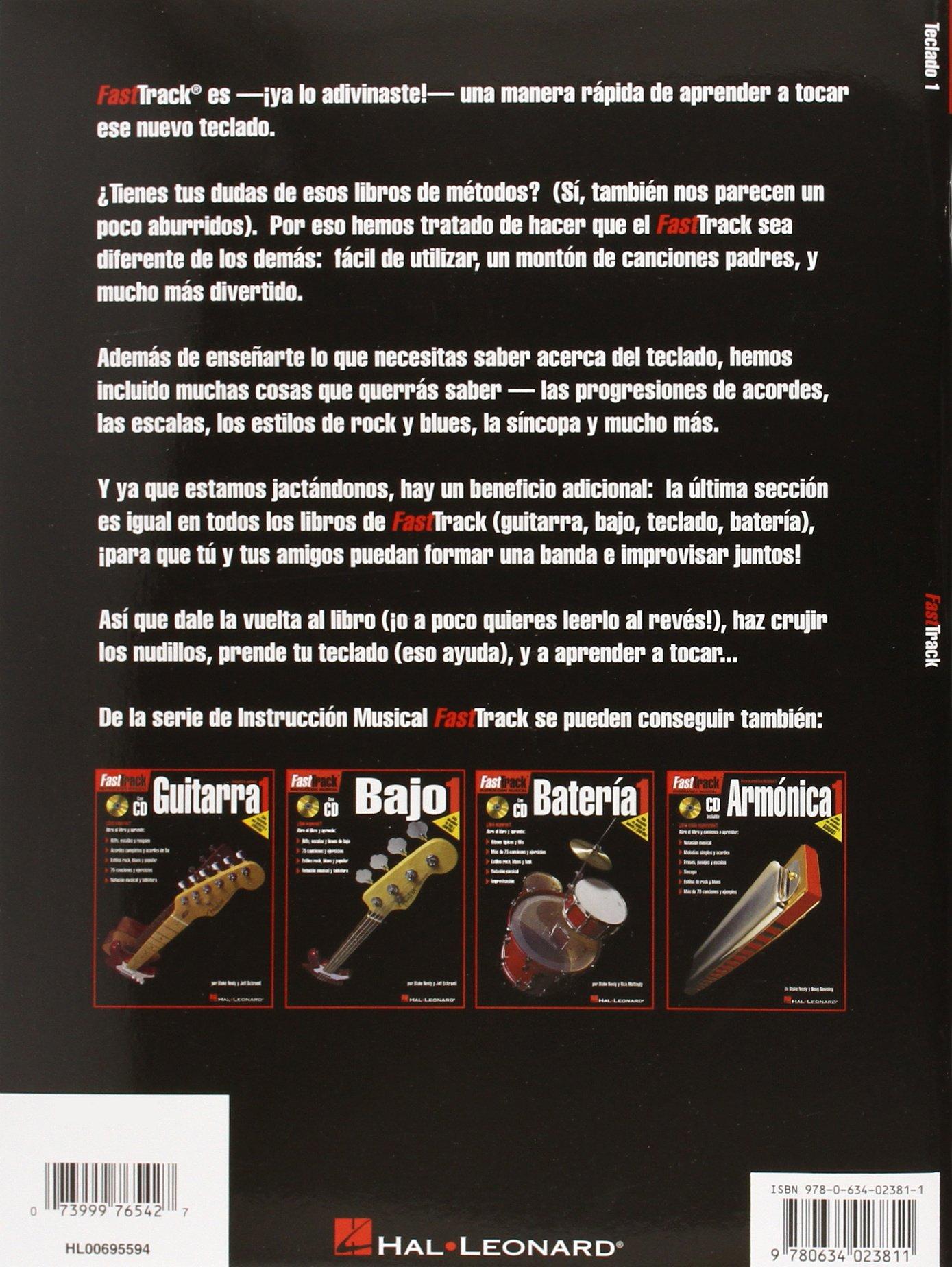FastTrack Keyboard Method - Spanish Edition (Teclado 1 ...
