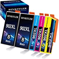 902 Ink Cartridges, Compatible Replacement for HP 902XL 902 XL (Newest Chip) Work with HP OfficeJet Pro 6978 6968 6962…
