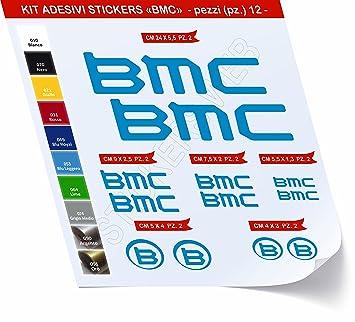 Pegatinas Bicicleta BMC Kit 1 _ Kit Pegatinas Stickers 12 Piezas ...