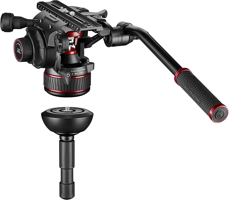 Manfrotto Mvk612twinmc Nitrotech 612 Fluid Videokopf Kamera