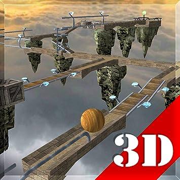 3d ball balance game free download