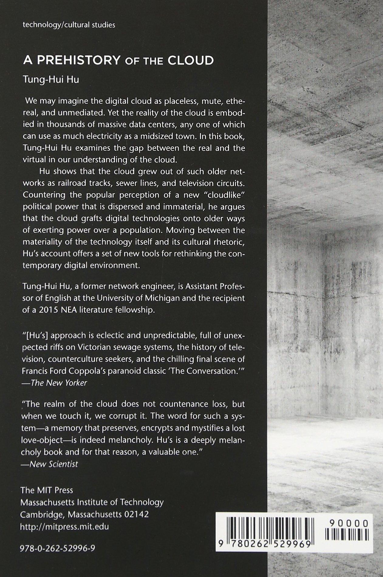 Amazon: A Prehistory Of The Cloud (mit Press) (9780262529969): Tunghui  Hu: Books