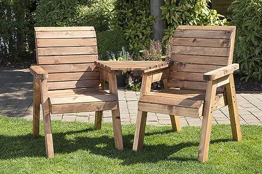 twin companion garden seat angled love seat bench tete a tete seats - Garden Furniture Love Seat