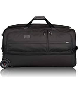 addb0a3df42 TUMI - Alpha 2 Large Wheeled Split Large Duffel Bag - Rolling Luggage for  Men and