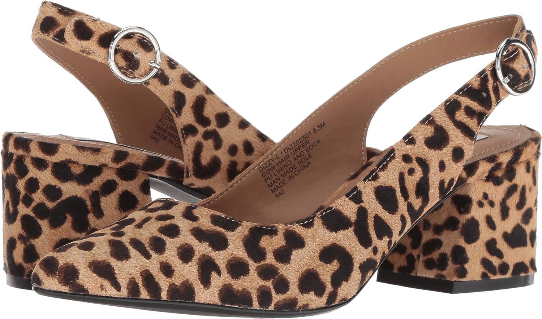 0d3cd4f43b6 Steve Madden Women's Dizzy-l Ankle-high Haircalf Slingback Leopard 5 ...