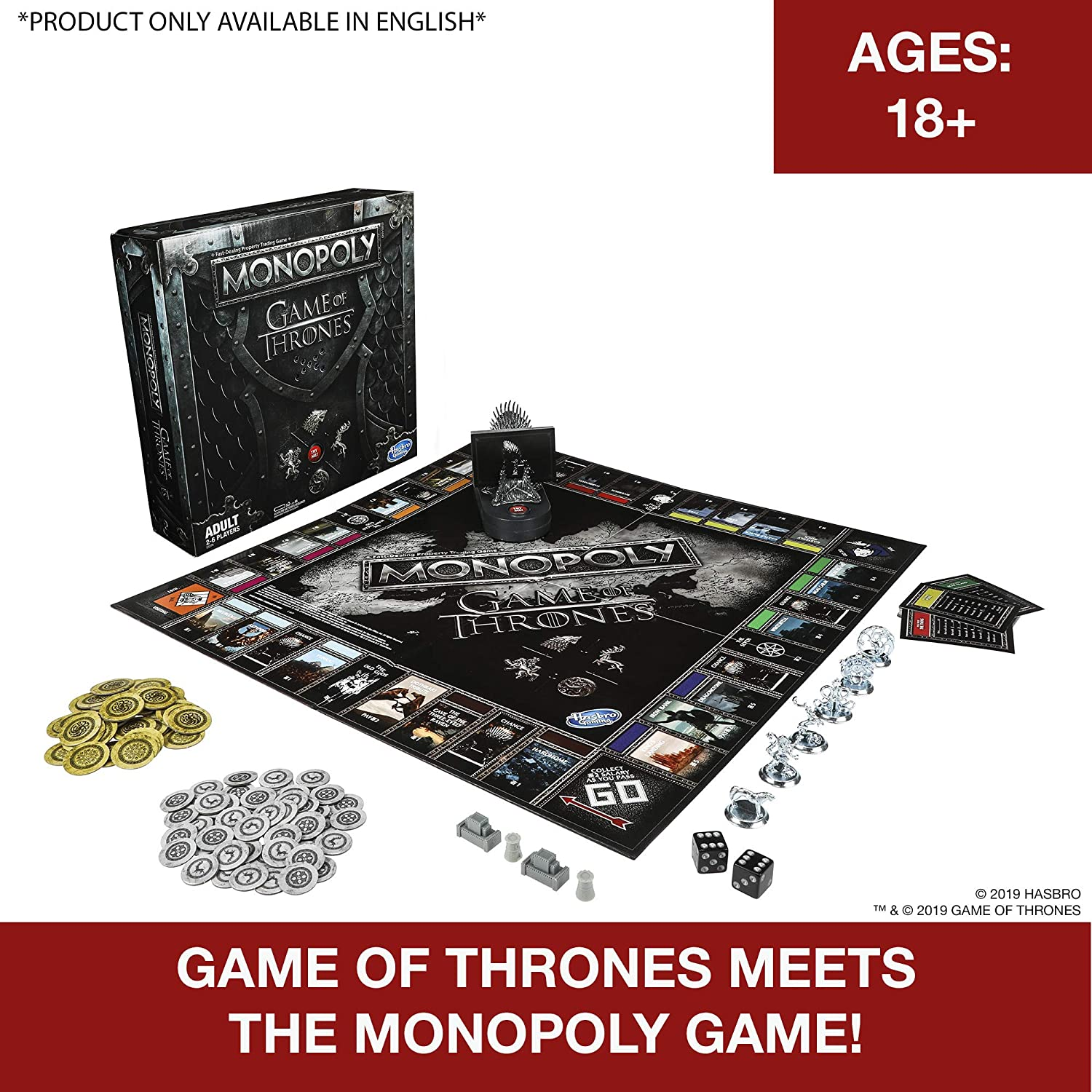 Monopoly Game of Thrones: Amazon.es: Juguetes y juegos