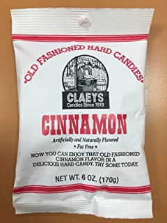 product image for Claeys Cinnamon Old Fashioned Hard Candy 24 PACK 6oz Bags