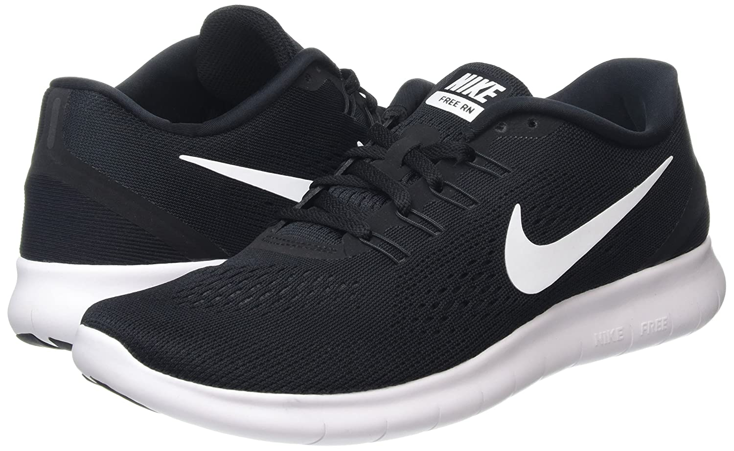 Amazon.com | Nike Mens Free Rn Running Shoe Black/Anthracite/White (