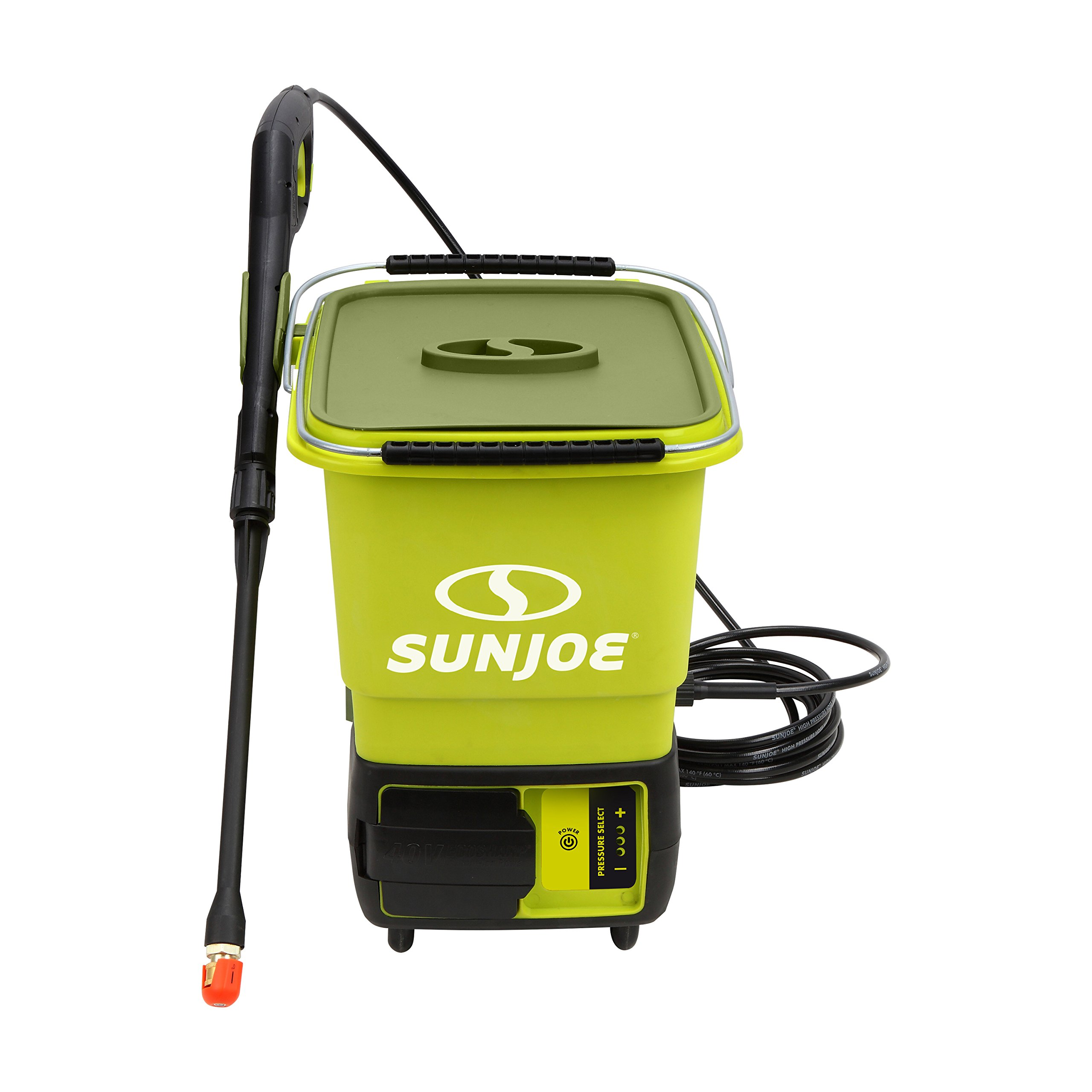 Sun Joe SPX6000C-XR iON Cordless Pressure Washer | 1160 PSI · 40V · 5.0 Ah