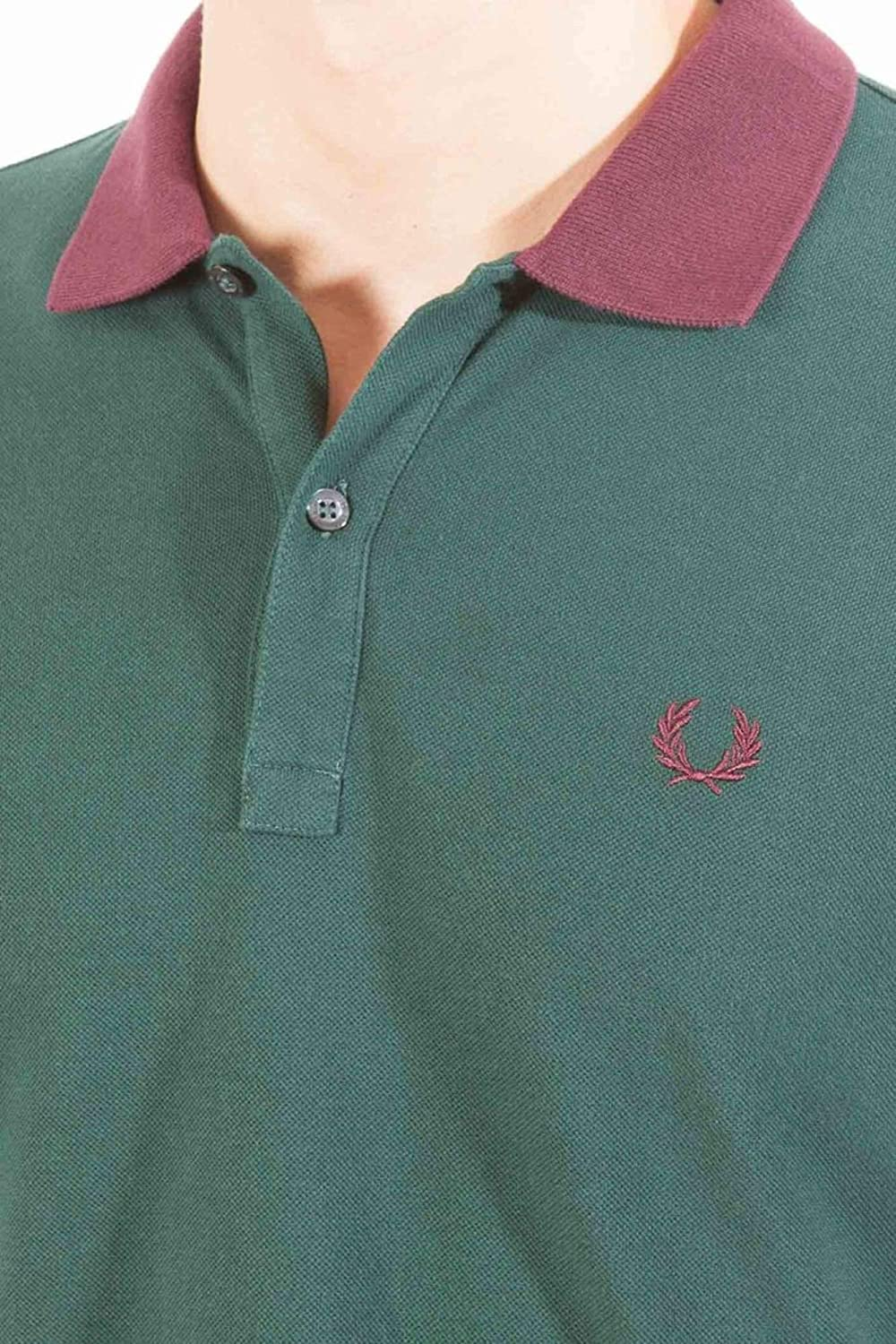 Fred Perry Polo Verde 2XL: Amazon.es: Ropa y accesorios