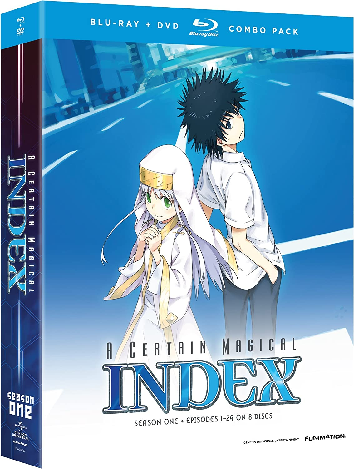 A Certain Magical Index Season 1 Blu-ray/DVD (Dual Audio)