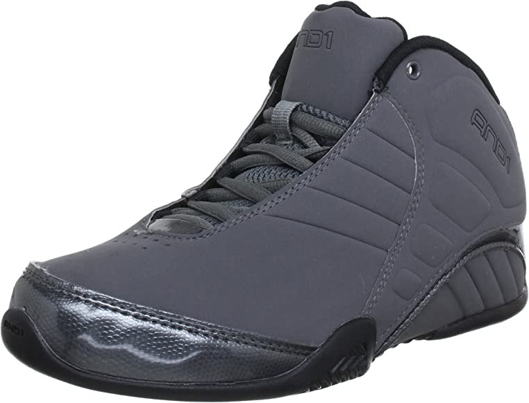 AND1 Men's Rocket Mid Basketball Shoes