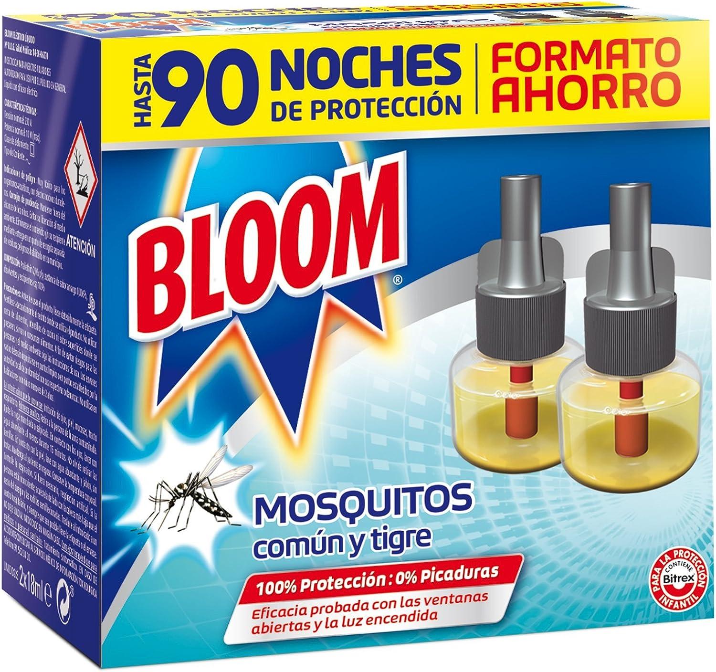 Bloom Insecticida Eléctrico Líquido Mosquitos - 2 x18 ml