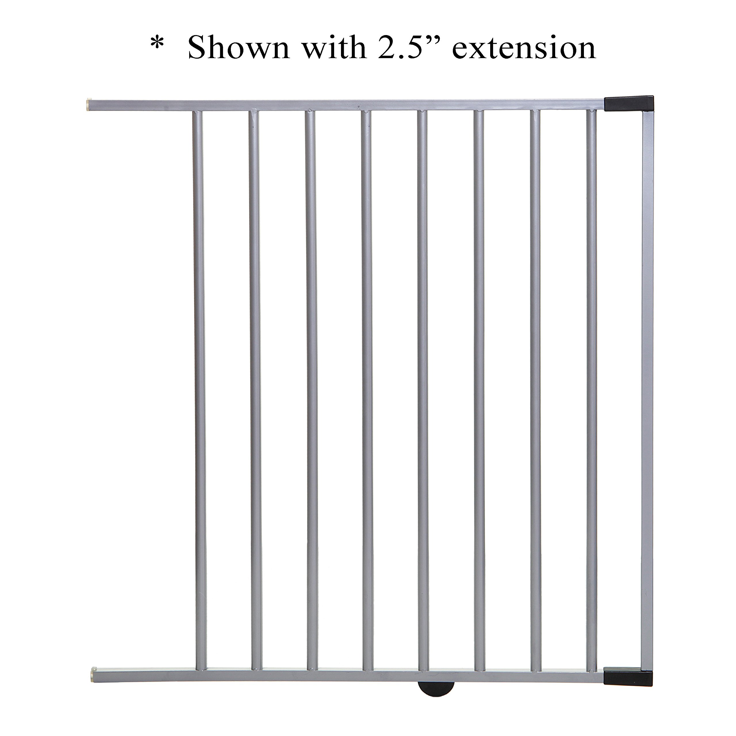 Dreambaby Metropolitan and Windsor Extension, Silver, 22''