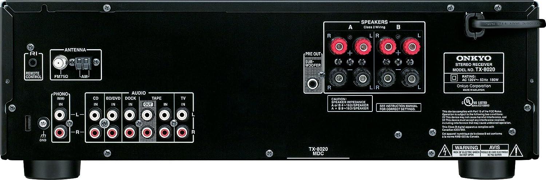 Amazon.com: Receptor de estéreo Onkyo TX-8020: Home ...