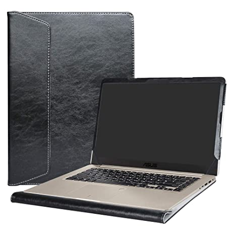 """Alapmk Diseñado Especialmente La Funda Protectora de Cuero de PU para 15.6"""" ASUS VivoBook S15"""