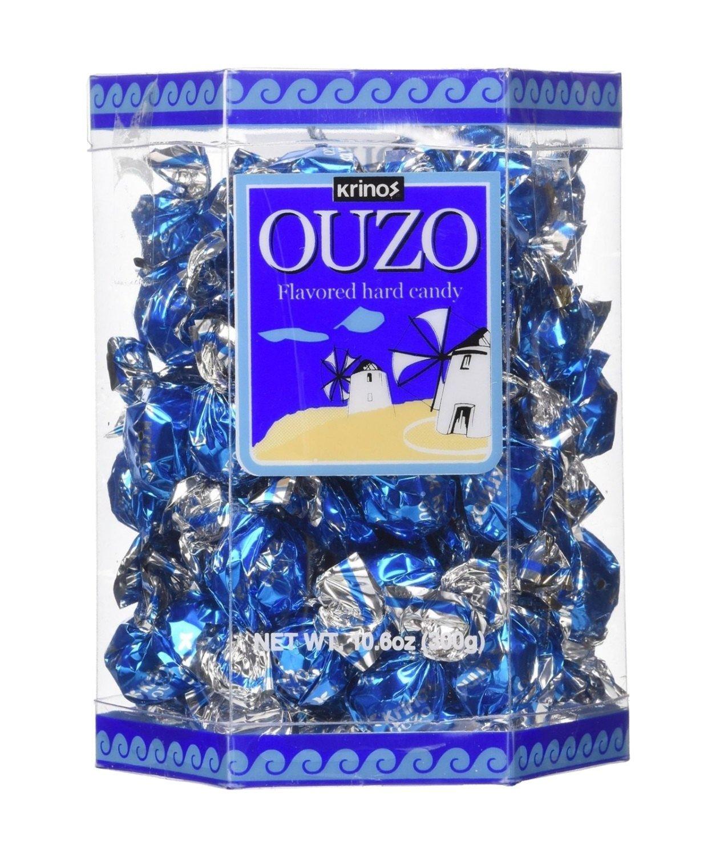 Krinos Ouzo Candy - 10.6 oz Gift Box