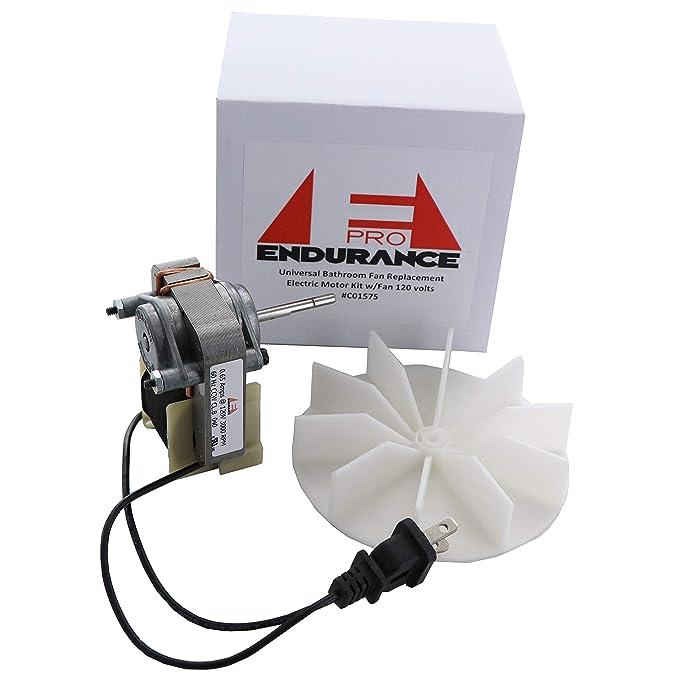 endurance pro electric motors c01575 replacement electric motor kitendurance pro electric motors c01575 replacement electric motor kit with fan, 120v amazon com