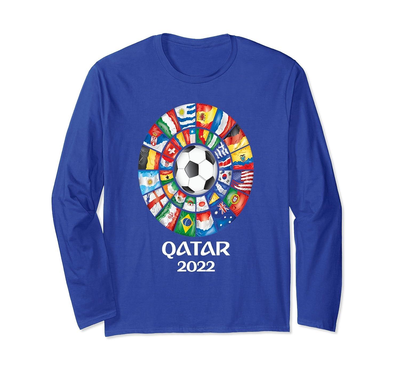 Qatar Soccer 2022 TShirt World Flags Proud Teams Tee- TPT