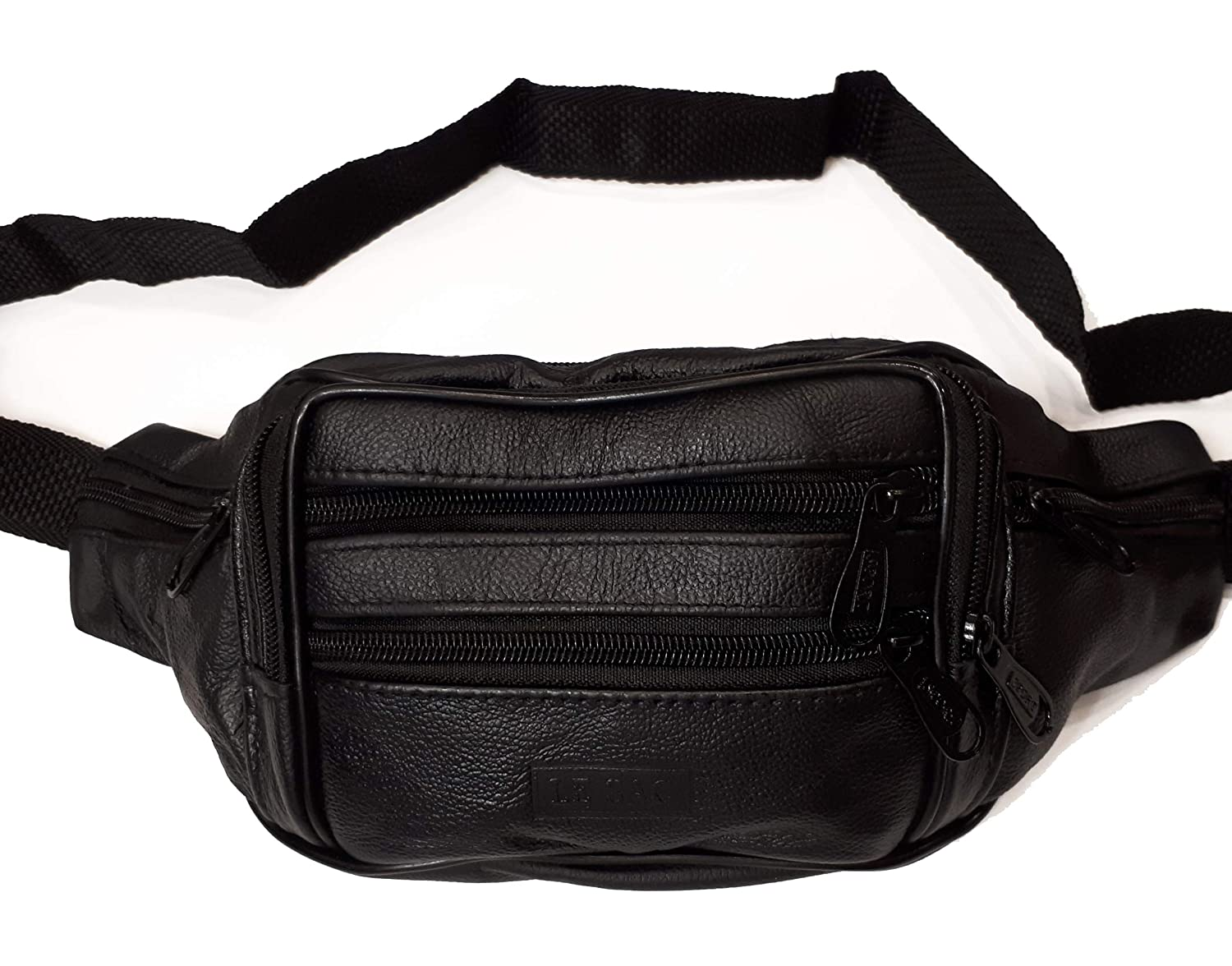 Fanny Pack Waist Pack Money Belt Pouch Leather for Travel Work and Sports 329