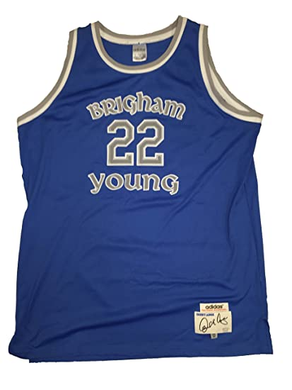 timeless design 159c9 59be6 Amazon.com: Danny Ainge Brigham Young BYU Cougars Authentic ...