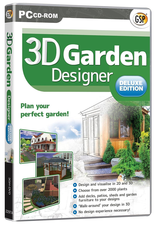 3D Garden Designer Deluxe Amazoncouk Software