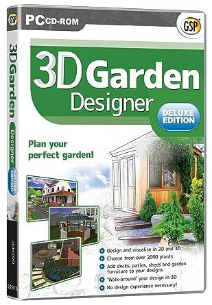 3D Garden Designer Deluxe: Amazon.Co.Uk: Software