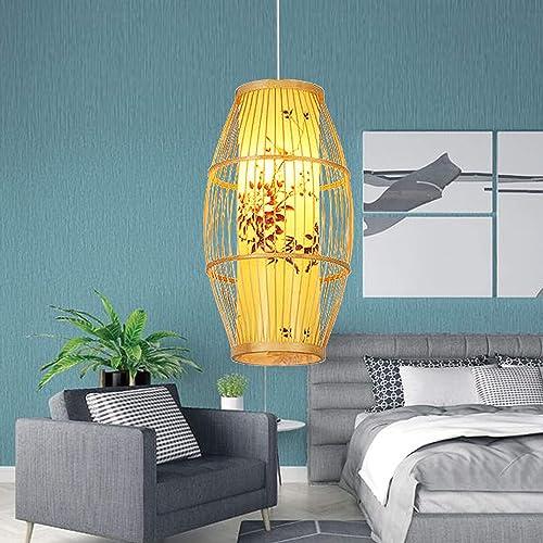 Bamboo Lantern Pendant Lamp
