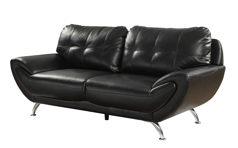 Amazon.com: homes: inside + out idf-6414bk-sf Stinson sofá ...