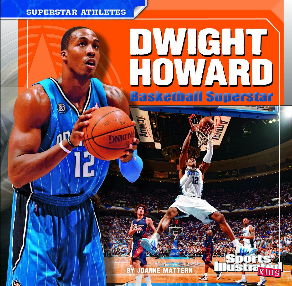 Dwight Howard: Basketball Superstar (Superstar Athletes) by Brand: Capstone Press (Image #1)